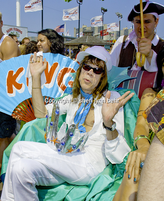 David Johansen in the 2005 Mermaid Parade