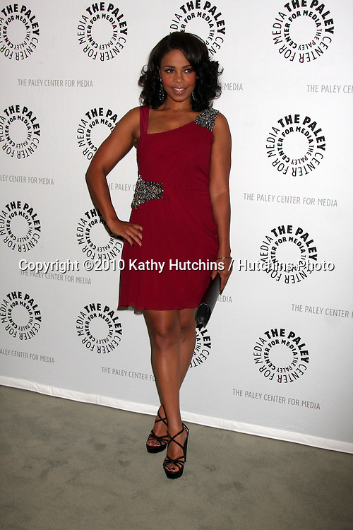 """LOS ANGELES - SEP 23:  Sanaa Lathan arrives at """"The Cleveland Show"""" DVD Release Party & Panel DIscussion  at Paley Center for Media on September 23, 2010 in Beverly Hills, CA"""
