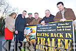 RACE TIME: Members of the North Kerry Harriers who are organising a race meeting at Ballybeggan in Tralee on January 22nd, l-r: Bernadette Hanrahan, Edward Hanrahan, Maurice Stack, Jeremiah O'Connor, Finbarr Breen, Mike Kelliher.