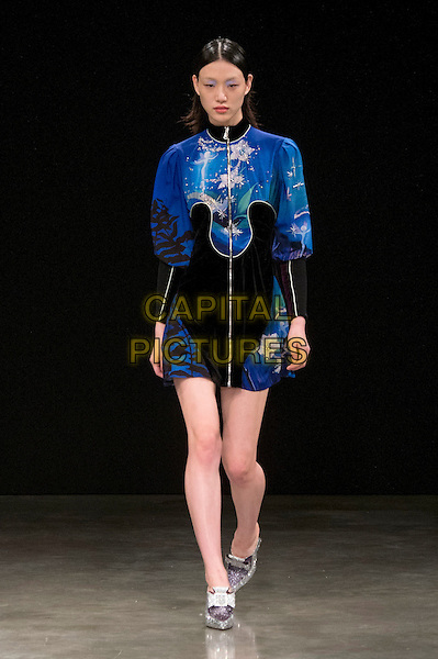 MARY KATRANTZOU<br /> at London Fashion Week FW 17 18<br /> in London, UK  February 2017.<br /> CAP/GOL<br /> &copy;GOL/Capital Pictures