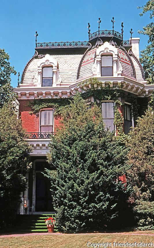 Quincy: Huffman House, c. 1885.  Photo '77.