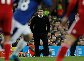 5th November 2017, Goodison Park, Liverpool, England; EPL Premier League Football, Everton versus Watford; Everton caretaker David Unsworth looks on as his team fail to make any progress in the first half of the game