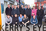 The Kerry Darts Association team that travelled to Limerick for the Limerick invitational tournament on Sunday front row l-r: Keith Sills Lixnaw, Jamie Kelliher Killarney, David Stack Rockchapel, James Broder Castleisland, Kevin McCann Killarney. Back row: John Teahan Cromane, Richard O'Connor Killorglin, Neil O'donoghue Brosna, Dale McCarthy Milltown, Kevin Orpen Ardfert, Matt Lacey Killarney and Steve Naylor Killarney