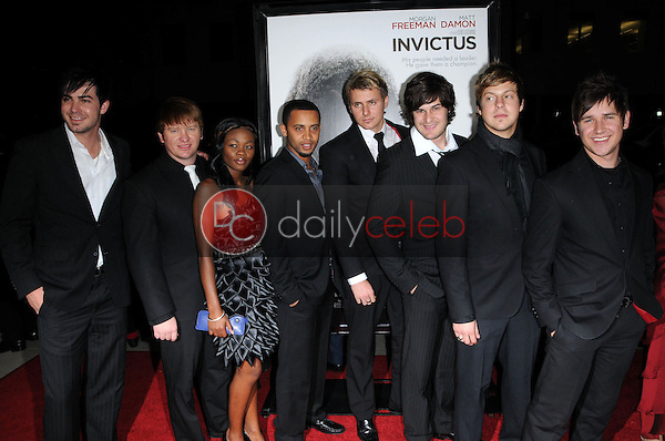 """OverTones<br /> at the """"Invictus"""" Los Angeles Premiere, Academy of Motion Picture Arts and Sciences, Beverly Hills, CA.  12-03-09<br /> David Edwards/Dailyceleb.com 818-249-4998"""