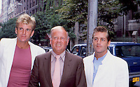 Dick Van Patten with sons Nels & Jimmy<br />