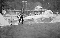 Simon Zahner (SUI) during course recon &amp; training<br /> <br /> 2015 UCI World Championships Cyclocross <br /> Tabor, Czech Republic