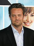 """HOLLYWOOD, CA. - September 21: Matthew Perry arrives at the Los Angeles premiere of """"The Invention of Lying"""" at the Grauman's Chinese Theatr on September 21, 2009 in Hollywood, California."""