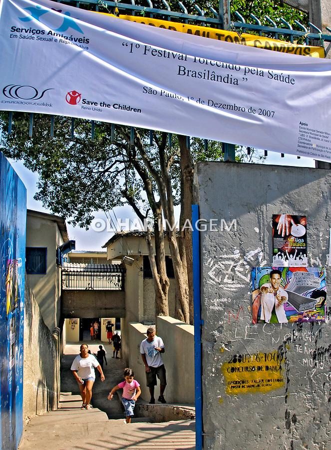 Dia Mundial de Luta Contra a AIDS. Vila Brasilândia. São Paulo. 2007. Foto de Juca Martins.