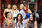 Birthday<br /> -----------<br /> Ciara O'Sullivan from Tralee sits between Amy Mcloughlin (Lt) and Selena Griffin while out celebrating her 25th birthday in Cassidys, Tralee last Saturday night, back L-R Bree Curtin, Stephanie Griffin, Meg O'Mahony and Claire Byrne.