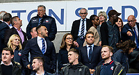 Bolton Wanderers' Sharon Brittan, (centre), Football Ventures Consortium member pictured in the Director's Box before the match <br /> <br /> Photographer Andrew Kearns/CameraSport<br /> <br /> EFL Leasing.com Trophy - Northern Section - Group F - Bolton Wanderers v Bradford City -  Tuesday 3rd September 2019 - University of Bolton Stadium - Bolton<br />  <br /> World Copyright © 2018 CameraSport. All rights reserved. 43 Linden Ave. Countesthorpe. Leicester. England. LE8 5PG - Tel: +44 (0) 116 277 4147 - admin@camerasport.com - www.camerasport.com