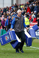 Bath Director of Rugby Todd Blackadder. Anglo-Welsh Cup Final, between Bath Rugby and Exeter Chiefs on March 30, 2018 at Kingsholm Stadium in Gloucester, England. Photo by: Matt Impey / Wired Photos for Onside Images