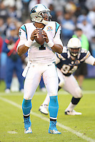 12/16/12 San Diego, CA: Carolina Panthers quarterback Cam Newton #1 during an NFL game played between the Carolina Panthers and the San Diego Chargers held at Qualcomm Filed. The Panthers defeated the Chargers 31-7