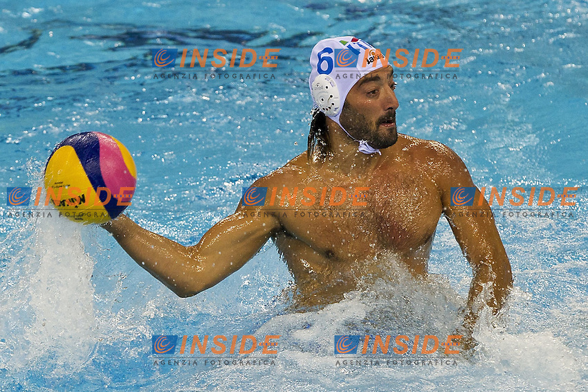 Shanghai , China (CHN) 16-31 July 2001.XIV FINA Swimming World Championships.day 07.Men's Water Polo.Italia Vs Germany.FELUGO Maurizio ITA...Photo Insidefoto / Giorgio Scala