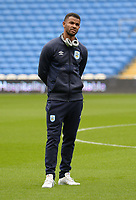 Huddersfield Town's Fraizer Campbell arrives at Cardiff City stadium <br /> <br /> Photographer Ian Cook/CameraSport<br /> <br /> The EFL Sky Bet Championship - Cardiff City v Huddersfield Town - Wednesday August 21st 2019 - Cardiff City Stadium - Cardiff<br /> <br /> World Copyright © 2019 CameraSport. All rights reserved. 43 Linden Ave. Countesthorpe. Leicester. England. LE8 5PG - Tel: +44 (0) 116 277 4147 - admin@camerasport.com - www.camerasport.com
