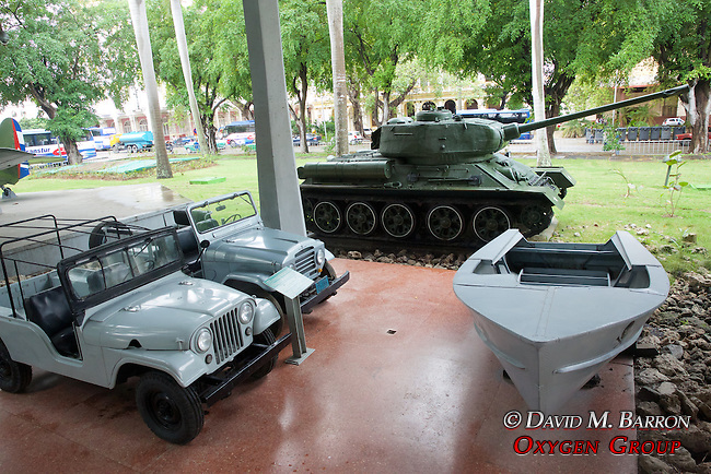 Jeeps, T34 Tank & Pirate Boat, Granma Memorial