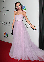 US actress Olivia Wilde arrives at the NBC/Universal Pictures/Focus Features Golden Globes after party at the Beverly Hilton Hotel, Beverly Hills, California, USA, on January 11, 2009.  The Golden Globes honour excellence in film and television.