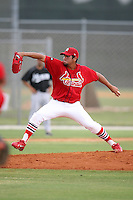April 14, 2009:  Pitcher Senger Peralta of the St. Louis Cardinals extended spring training team during a game at Roger Dean Stadium Training Complex in Jupiter, FL.  Photo by:  Mike Janes/Four Seam Images