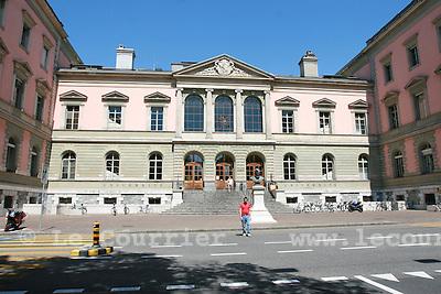 Genèvel, le 10.05.2007.Université de genève, Uni Bastions..© J.-P. Di Silvestro..