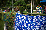 Crowds watching at the roadside as the Queen's Baton Relay visited Bamaga. In the host state of Queensland the Queen's Baton will visit 83 communities from Saturday 3 March to Wednesday 4 April 2018. As the Queen's Baton Relay travels the length and breadth of Australia, it will not just pass through, but spend quality time in each community it visits, calling into hundreds of local schools and community celebrations in every state and territory. The Gold Coast 2018 Commonwealth Games (GC2018) Queen's Baton Relay is the longest and most accessible in history, travelling through the Commonwealth for 388 days and 230,000 kilometres. After spending 100 days being carried by approximately 3,800 batonbearers in Australia, the Queen's Baton journey will finish at the GC2018 Opening Ceremony on the Gold Coast on 4 April 2018.