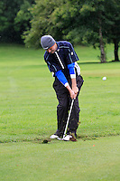 Jake Whelan (Newlands) on the 2nd during round 1 of The Mullingar Scratch Cup in Mullingar Golf Club on Sunday 3rd August 2014.<br /> Picture:  Thos Caffrey / www.golffile.ie