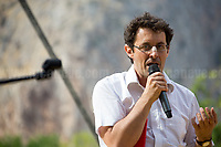 Marco Bertelli - Memebr of Agende Rosse Momevement.<br />