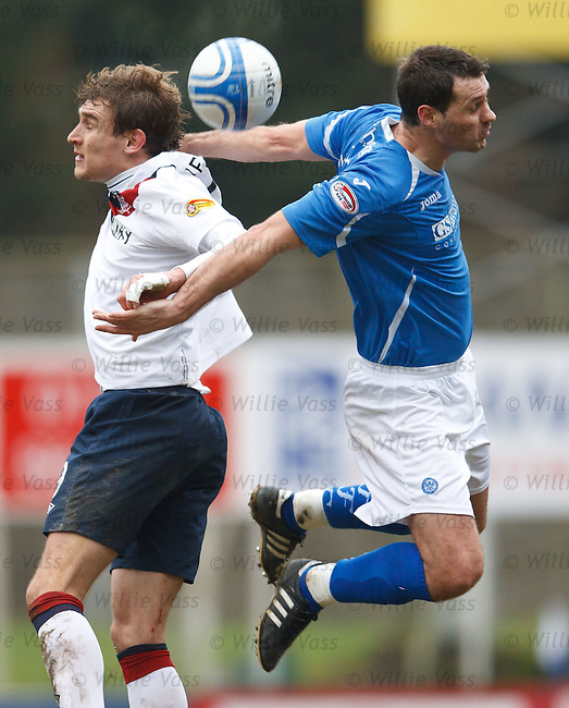Nikica Jelavic and David McCracken