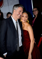 """LOS ANGELES, CA. March 11, 2019: Ol Parker & Thandie Newton at the world premiere of """"Dumbo"""" at the El Capitan Theatre.<br /> Picture: Paul Smith/Featureflash"""