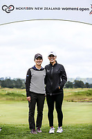 Munchin and Wenyung Keh.<br /> McKayson NZ Women's Golf Open, first Practice Round, Windross Farm Golf Course, Manukau, Auckland, New Zealand, Monday 25 September 2017.  Photo: Simon Watts/www.bwmedia.co.nz