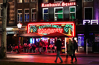 Nederland - Amsterdam - Januari 2019. Coffeeshop Smokey op het Rembrandtplein. Foto Berlinda van Dam / Hollandse Hoogte.
