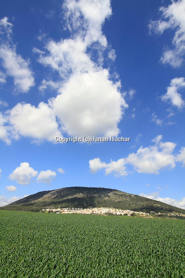 Israel, Mount Tabor in Jezreel valley