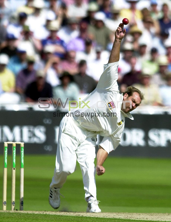 Pix: Matthew Lewis/SWpix.com. International Cricket. Third NPower Test. England v South Africa, Trent Bridge. 15/08/03..COPYRIGHT PICTURE>>SIMON WILKINSON>>0870 092 0092>>..South Africa's Jacques Kallis.