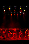 """18.04.2012. Los Vivancos premiere at the Teatro Nuevo Alcalá in Madrid, his new show """"Aeternum"""" a big production about the supernatural, with the collaboration of Daniele Finzi Pasca, creator of """"Corteo,"""" Cirque du Soleil. (Alterphotos/Marta Gonzalez)"""