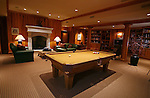 The game room located in the cellar of the home of Pete and Judi Dawkins in Rumson, New Jersey. CREDIT: Bill Denver for the Wall Street Journal..NYHODRUMSON