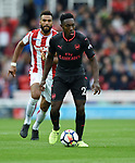 Danny Welbeck of Arsenal during the premier league match at the Britannia Stadium, Stoke. Picture date 19th August 2017. Picture credit should read: Robin Parker/Sportimage