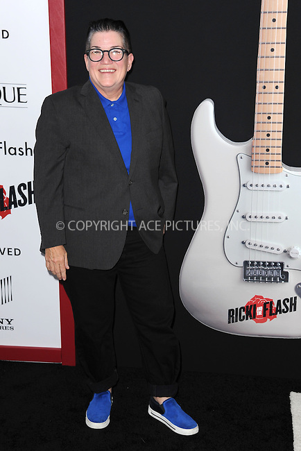 WWW.ACEPIXS.COM<br /> August 3, 2015 New York City<br /> <br /> Lea DeLaria attending the New York premiere of 'Ricki And The Flash' at AMC Lincoln Square Theater on August 3, 2015 in New York City.<br /> <br /> Credit: Kristin Callahan/ACE <br /> <br /> <br /> Tel: (646) 769 0430<br /> e-mail: info@acepixs.com<br /> web: http://www.acepixs.com