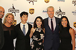 John Varvatos and Michelle Kwan with Nathan & Karen Chen with Terry & Tina Lundgren at Figure Skating in Harlem's Champions in Life (in its 21st year) Benefit Gala recognizing the medal-winning 2018 US Olympic Figure Skating Team on May 1, 2018 at Pier Sixty at Chelsea Piers, New York City, New York. (Photo by Sue Coflin/Max Photo)