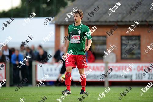 2012-07-12 / Voetbal / seizoen 2012-2013 / Houtvenne / Glenn Van Asten..Foto: Mpics.be
