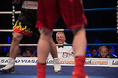 Fight NIght Aarhus 15-6-2013<br /> professionel kampleder og dommer S&oslash;ren Saugmann<br /> Photo:Thomas Sj&oslash;rup &copy;