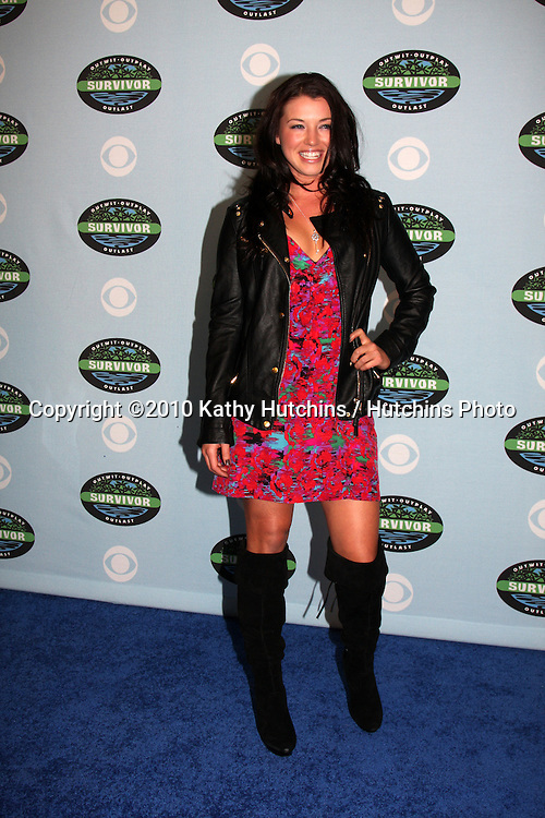 "Parvati Shallow.arrivng at the ""Survivor"" 10 Year Anniverary Party .CBS Television CIty.Los Angeles, CA.January 9, 2010.©2010 Kathy Hutchins / Hutchins Photo...."