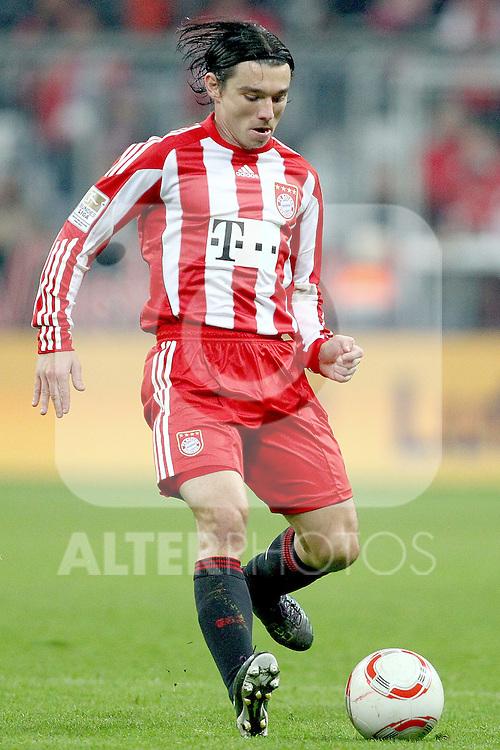 29.10.2010, Allianz Arena, Muenchen, GER, 1.FBL, FC Bayern Muenchen vs SC Freiburg, im Bild Danijel Pranjic (Bayern #23)  , Foto © nph / Straubmeier