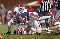 Hawgs Illustrated/BEN GOFF <br />  Saturday, Oct. 28, 2017, at Vaught-Hemingway Stadium in Oxford, Miss.