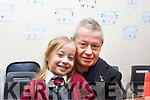 Attending the Moyderwell Grandparents day on Thursday morning last. L-r, Philip McCarthy with his granddaughter Sadie Mazurek.