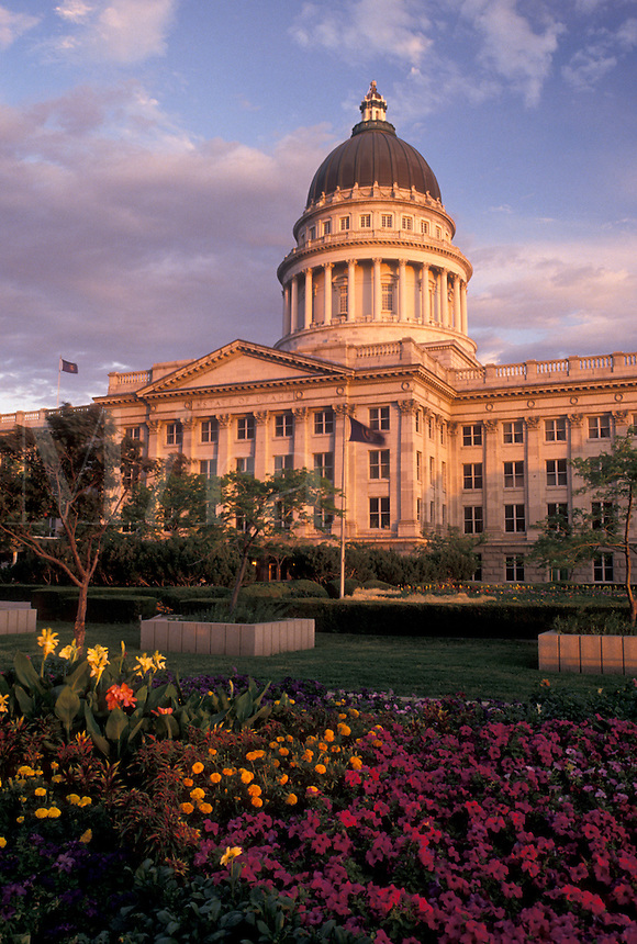 Salt Lake City, Utah, State Capitol, UT, State House, The State Capitol Building in Salt Lake City.
