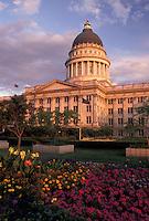 Salt Lake City, Utah, State Capitol, UT, State House, The State Capitol Building in Salt Lake City.