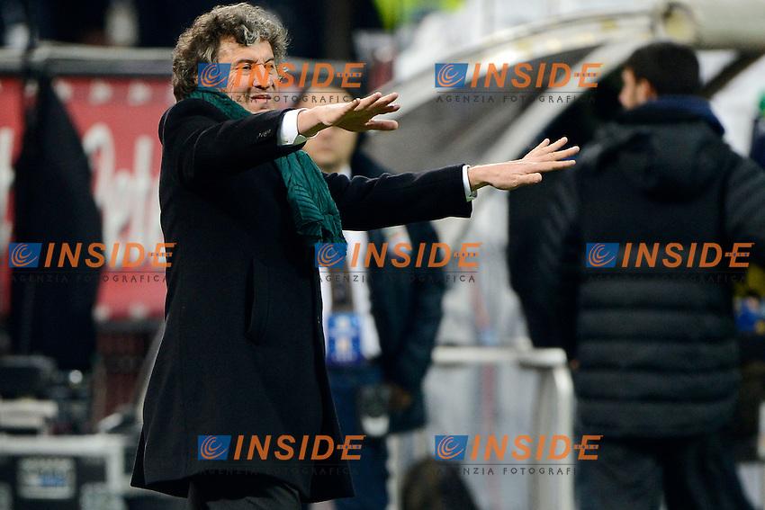 Alberto Malesani Sassuolo<br /> Milano 09-02-2014 Stadio Giuseppe Meazza - Football 2013/2014 Serie A. Inter - Sassuolo Foto Giuseppe Celeste / Insidefoto
