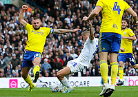 Leeds United's Kalvin Phillips scores the opening goal<br /> <br /> Photographer Alex Dodd/CameraSport<br /> <br /> The EFL Sky Bet Championship - Leeds United v Birmingham City - Saturday 19th October 2019 - Elland Road - Leeds<br /> <br /> World Copyright © 2019 CameraSport. All rights reserved. 43 Linden Ave. Countesthorpe. Leicester. England. LE8 5PG - Tel: +44 (0) 116 277 4147 - admin@camerasport.com - www.camerasport.com