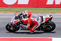 Andrea Dovizioso of Italy and Ducati Team during the MotoGP Italy Grand Prix 2017 at Autodromo del Mugello, Florence, Italy on 4th June 2017. Photo by Danilo D'Auria.<br /> <br /> Danilo D'Auria/UK Sports Pics Ltd/Alterphotos /NortePhoto.com