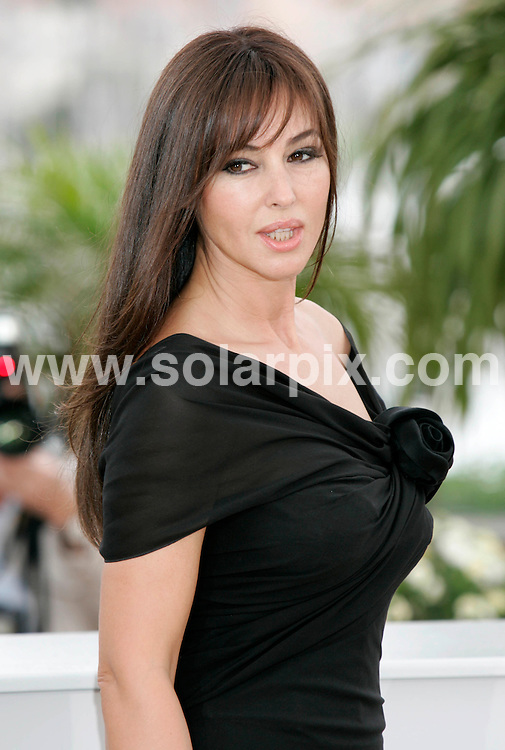 **ALL ROUND PICTURES FROM SOLARPIX.COM**.**SYNDICATION RIGHTS FOR UK AND SPAIN ONLY**.Monica Bellucci at the 'Un Histoire Italienne' photocall during the 61st International Cannes Film Festival in France....JOB REF:   6456       CPR/Heinz       DATE:19.05.08.**MUST CREDIT SOLARPIX.COM OR DOUBLE FEE WILL BE CHARGED* *UNDER NO CIRCUMSTANCES IS THIS IMAGE TO BE REPRODUCED FOR ANY ONLINE EDITION WITHOUT PRIOR PERMISSION*