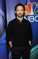 NEW YORK, NY - MAY 13: Milo Ventimiglia at the NBC 2019 Upfront Presentation at the Four Seasons Hotel in New York City on May 13, 2019. <br /> CAP/MPI/JP<br /> &copy;JP/MPI/Capital Pictures
