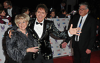 Gloria Hunniford and Sir Cliff Richard and Stephen Way at the Pride of Britain Awards 2016, Grosvenor House Hotel, Park Lane, London, England, UK, on Monday 31 October 2016. <br /> CAP/CAN<br /> &copy;CAN/Capital Pictures /MediaPunch ***NORTH AND SOUTH AMERICAS ONLY***